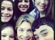 Grazi Massafera recebe família no Rio e curte domingo de folga com almoço