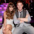 Lea Michele e Cory Monteith começaram a namorar depois que se conheceram nos bastidores de 'Glee'