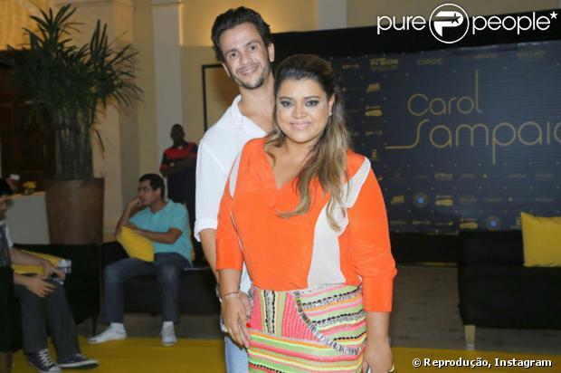 Carlos Henrique Lima troca declarações de amor com Preta Gil no Instagram