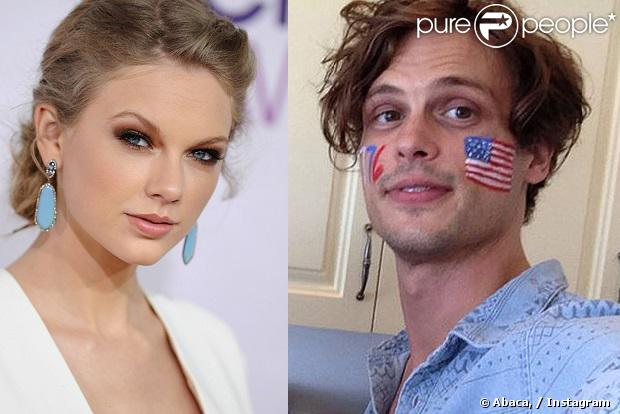 De acordo com fontes do site 'HollywoodLife', Taylor Swift está namorando o ator de 'Criminal Minds', Matthew Gray Gluber