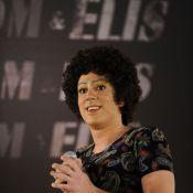 Marcelo Adnet faz paródia de Tom Jobim e Elis Regina no 'Fantástico'