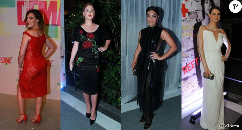 Juliana Paes, Marina Ruy Barbosa, Adriana Birolli e mais famosas apostaram  em looks elegantes 3648e0b803