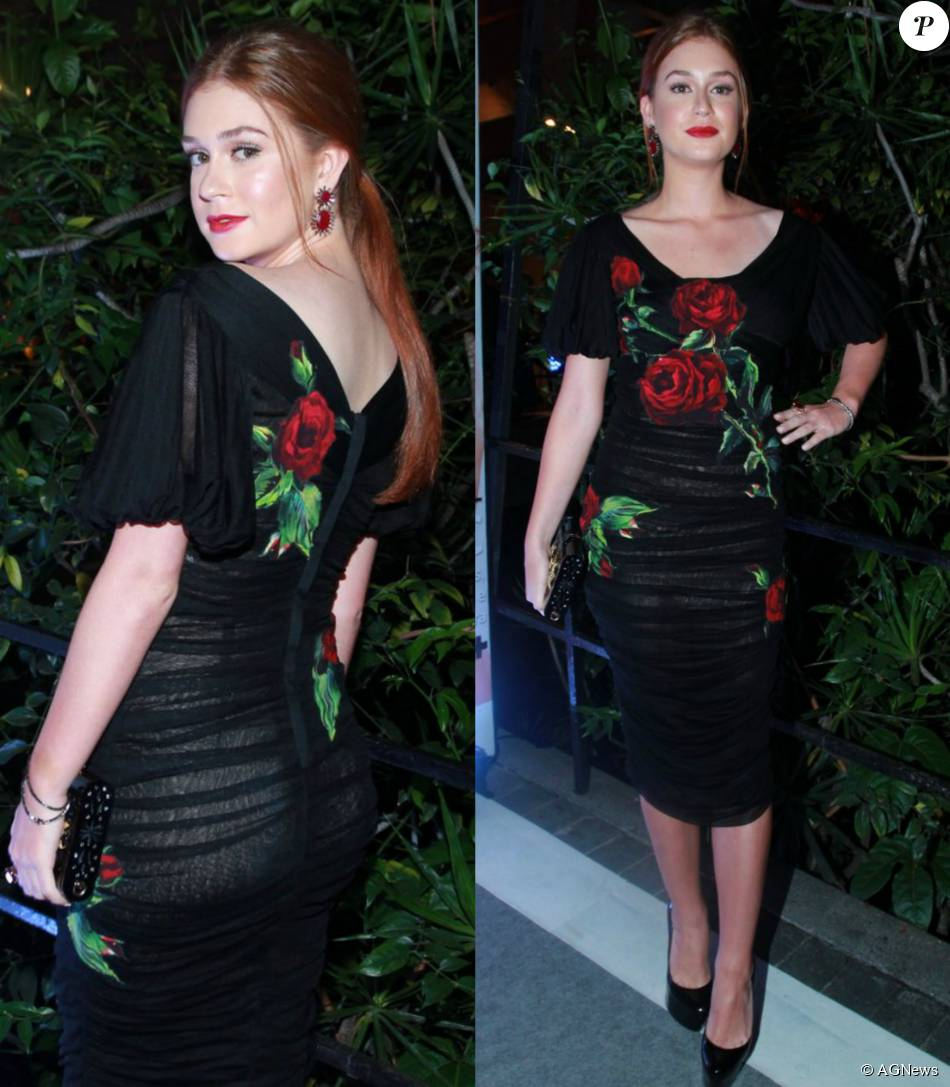 Marina Ruy Barbosa escolheu um look da grife Dolce   Gabbana ... b546c7f651