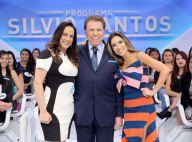 Silvio Santos brinca com a filha Silvia Abravanel: 'Não nasceu para ser artista'