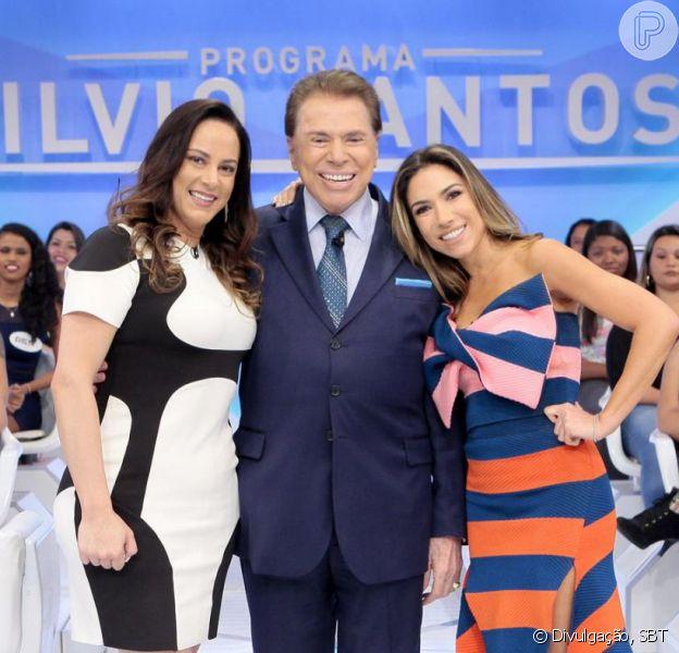 Silvio Santos ironizou a filha Silvia Abravanel ao compará-la com a irmã Patrícia Abravanel: 'Não nasceu para ser artista'