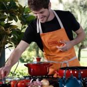 Maurício Destri mostra seu lado cozinheiro no 'Estrelas': 'Tem seu charme'