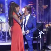 Ludmilla canta com Roberto Carlos e comemora: 'São tantas emoções'