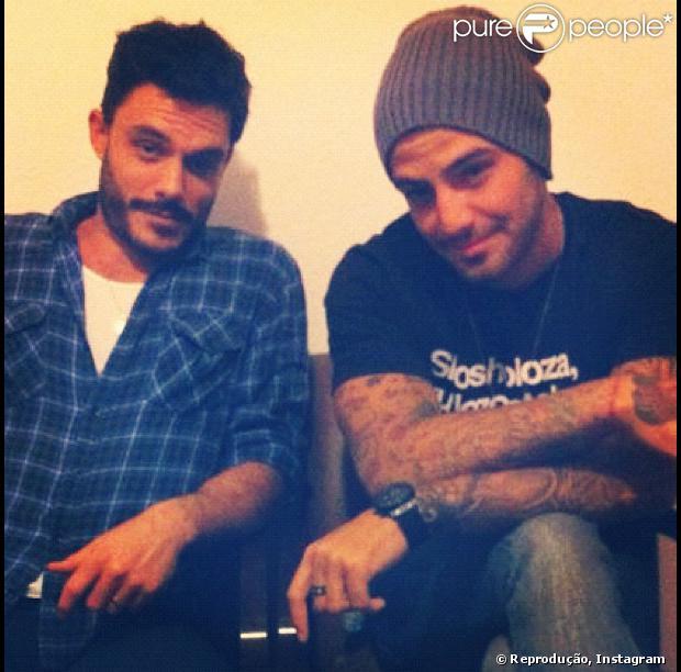 04ad5f3170 Kiko Pissolado e Felipe Titto dividem apartamento no Rio de Janeiro