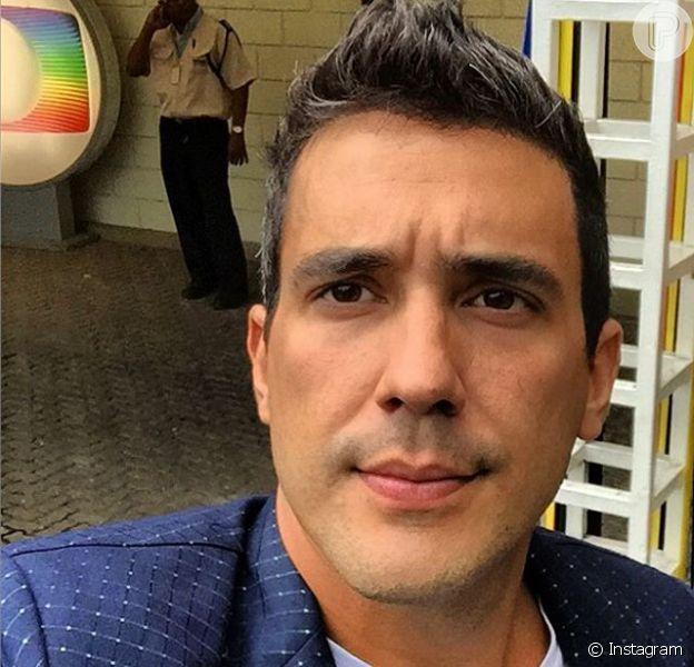 De acordo com coluna do jornal 'Folha de S. Paulo', André Marques fraturou uma costela e está de molho em casa
