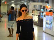 Isabelle Drummond embarca no Rio após terminar namoro com Tiago Iorc