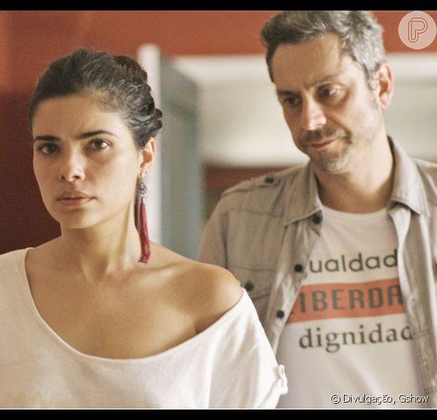 Tóia recusará pedido de casamento de Romero nos próximos capítulos de 'A Regra do Jogo'