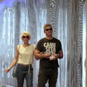 Flávia Alessandra e Otaviano Costa curtem cinema em shopping do Rio. Fotos!