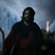 Moisés (Guilherme Winter) foi o último a atravessar o Mar Vermelho, na novela 'Os Dez Mandamentos'