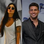 Recém-separada, Aline Riscado está apaixonada por Cauã Reymond, diz jornal