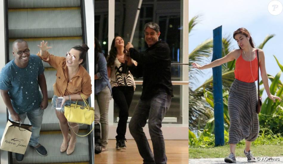 Maria Casadevall, William Bonner e mais famosos não se incomodam com paparazzi e mostram ser bem-humorados com os fotógrafos. Veja a galeria do Purepeople nesta quinta, 12 de novembro de 2015