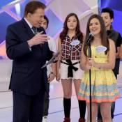 Silvio Santos brinca em reencontro com Maisa Silva no SBT: 'Tá grávida já?'