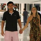 Fred fala sobre casamento com Paula Armani e diz estar ansioso:'Expectativa boa'