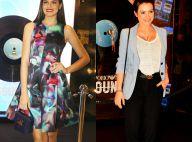 Camila Queiroz, Cleo Pires e Giovanna Ewbank prestigiam evento de moda no Rio