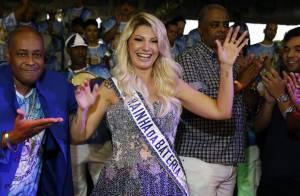 Carnaval 2016: Antonia Fontenelle é coroada rainha de bateria da Caprichosos