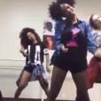 Arielle Macedo, coreógrafa de Anitta, ensinou os passos de 'Bang' para as dançarinas de Beyoncé. Kimmie Geedotcom, Hannah Douglas e Miss Ksyn participaram de um workshop no Brasil