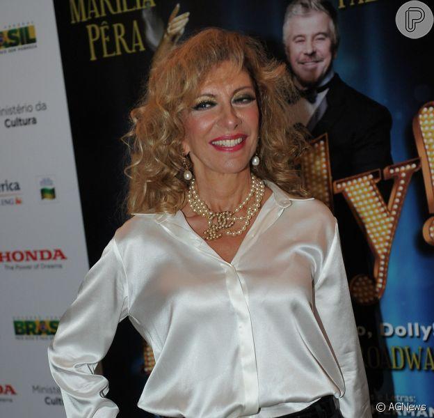 Marília Pêra está com câncer no pulmão, afirma o colunista Fernando Oliveira, do jornal 'Agora São Paulo'