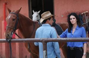Lisandra Souto grava participação em clipe sertanejo dirigido pelo novo namorado