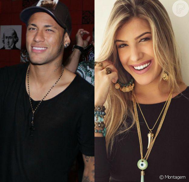 Neymar e Lorena Improta trocaram muitos beijos após o jogo do Brasil contra o Peru realizado na última terça, dia 17 de novembro de 2015, informou o site 'Alo Alô Bahia'