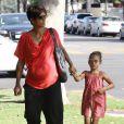 Halle Berry é mãe de Nahla de 5 anos e está grávida de sete meses