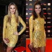 Rafa Brites repete vestido usado por Mariana Rios em premiação. Veja fotos!