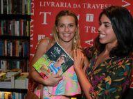 Carolina Dieckmann e mais famosos prestigiam lançamento do livro de Bela Gil