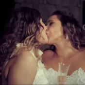 Daniela Mercury cede vídeo de casamento com Malu Verçosa para campanha. Veja!