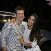 Pérola Faria marca presença em festa de 'Os Dez Mandamentos' ao lado do namorado