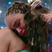 Agatha Moreira chora ao ser eliminada do 'Dança dos Famosos' após dançar frevo