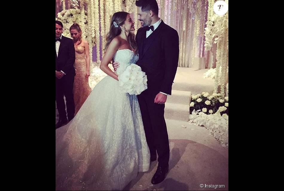Sofia Vergara e Joe Manganiello se casaram neste domingo, 22 de novembro de 2015, em Palm Beach, na Flórida, Estados Unidos