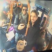 Reynaldo Gianecchini anda de ônibus em Londres e posta foto no Instagram