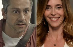 Novela 'A Regra do Jogo': Romero encontra Kiki vivendo com Zé Maria e uma filha