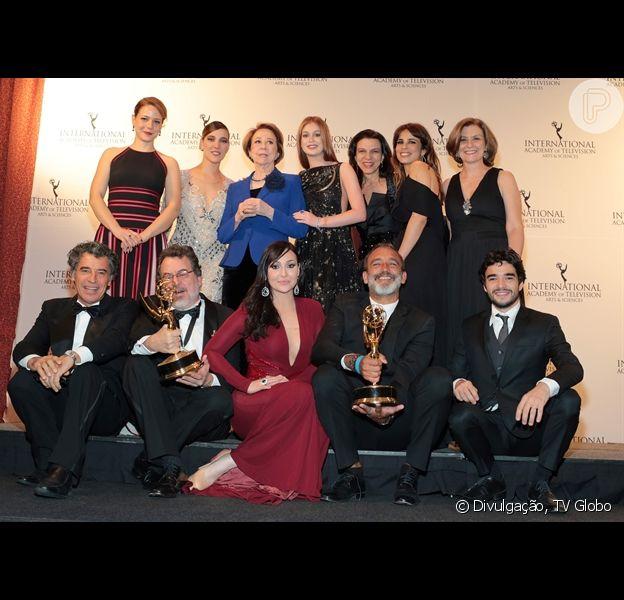 A Globo conquistou dois prêmios no 43º Emmy Internacional, considerado o Oscar da TV mundial, nesta segunda-feira, 23 de novembro de 2015, em Nova York, nos Estados Unidos