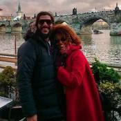 Sheron Menezzes curte férias na Europa com o noivo, Saulo Bernard: 'Que viagem!'