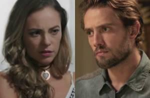 'Além do Tempo': Melissa sofre aborto e esconde de Felipe que perdeu do filho