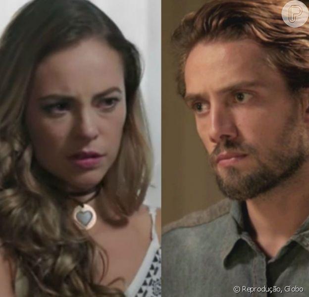Novela 'Além do Tempo': Melissa (Paolla Oliveira) perde o bebê e não conta para Felipe (Rafael Cardoso): 'Não pode saber'