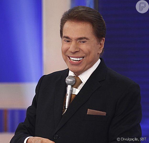 'Silvio Santos está superbem e em plena forma', afirma a assessoria de imprensa do SBT ao Purepeople, negando tombo do apresentador