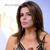Eliminada de  'A Fazenda 8', Mara chora e provoca Rebeca: 'Não mexe comigo'