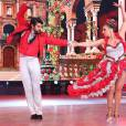 Viviane Araújo e Marcelo Granjeiro ficaram na primeira colocação e estão entre os três finalistas do 'Dança dos Famosos' 2015 que foram escolhidos neste domingo, 29 de novembro de 2015
