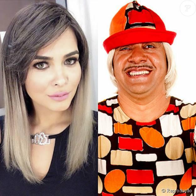 Geisy Arruda e Tiririca foram flagrados em clima de romance, durante um jantar, em São Paulo, em março de 2013. Na ápoca, a moça negou o romance