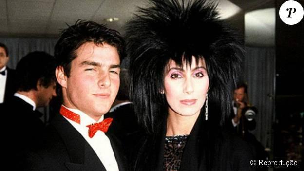 """Cher, de 67 anos, relembrou em um programa de TV, o romance que viveu com Tom Cruise: """"Ele está no meu top 5"""""""