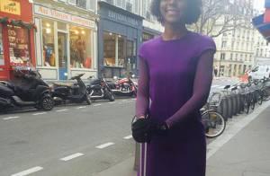Maria Júlia Coutinho ganha elogios na web ao posar em Paris: 'Linda e fina'