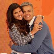 Giulia Costa visita Otaviano Costa no 'Video Show': 'Esqueci a chave de casa'