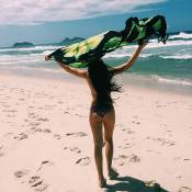 Filha de Fábio Assunção em 'Totalmente Demais' ganha elogios com foto de biquíni
