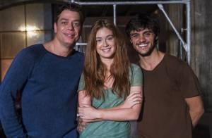Em 'Totalmente Demais', Jonatas tem crise de ciúme de Eliza: 'Estou sobrando!'