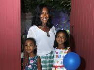 Gloria Maria comemora aniversário das filhas em casa de festas no Rio de Janeiro